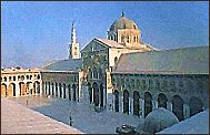 Omayyad Mosque in Damascus
